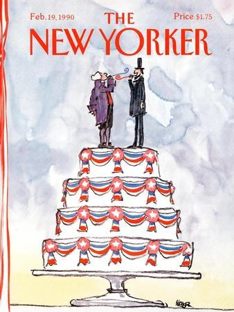 The New Yorker Cover - February 19, 1990