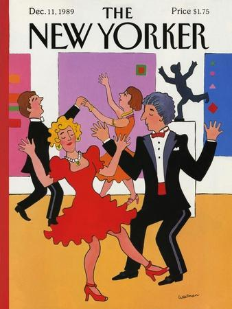 The New Yorker Cover - December 11, 1989
