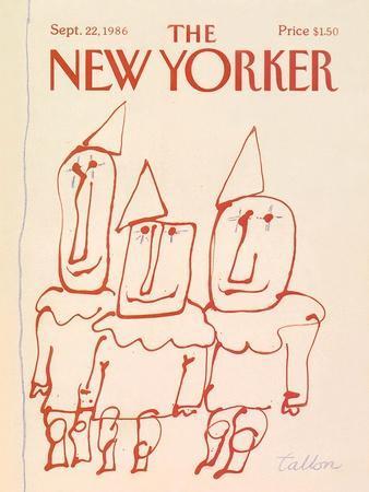 The New Yorker Cover - September 22, 1986