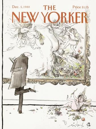 The New Yorker Cover - December 5, 1988