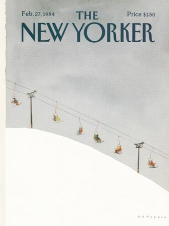The New Yorker Cover - February 27, 1984