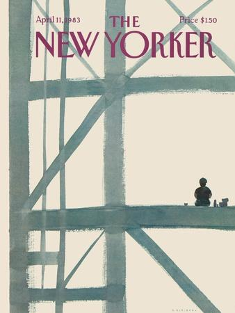 The New Yorker Cover - April 11, 1983