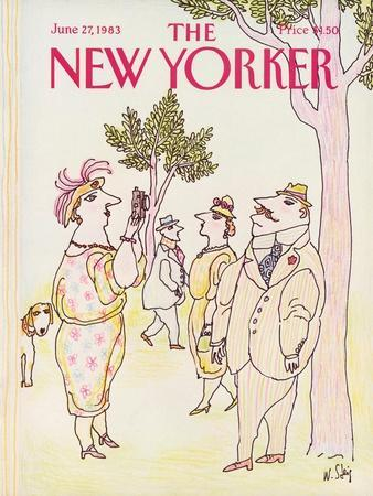The New Yorker Cover - June 27, 1983