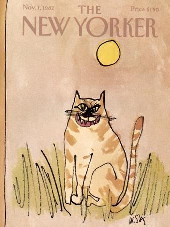The New Yorker Cover - November 1, 1982