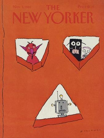 The New Yorker Cover - November 2, 1981