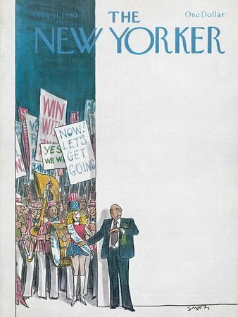 The New Yorker Cover - August 11, 1980