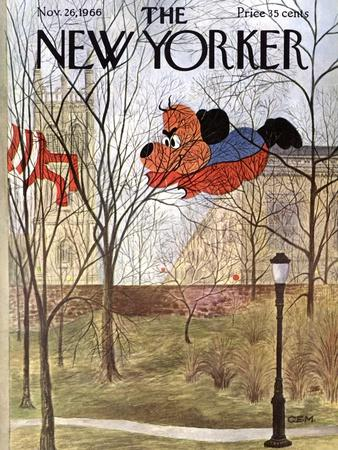 The New Yorker Cover - November 26, 1966