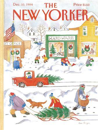 The New Yorker Cover - December 10, 1984