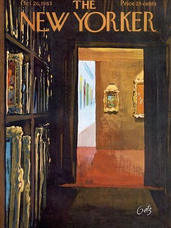 The New Yorker Cover - October 26, 1963
