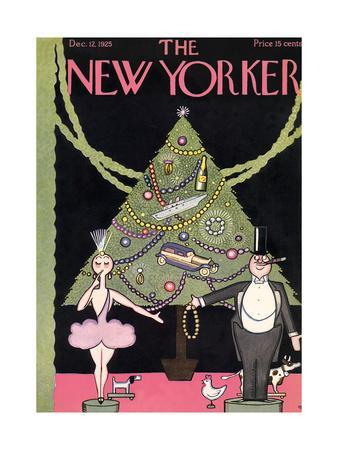 The New Yorker Cover - December 12, 1925