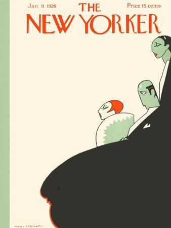 The New Yorker Cover - January 9, 1926