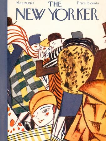 The New Yorker Cover - March 19, 1927