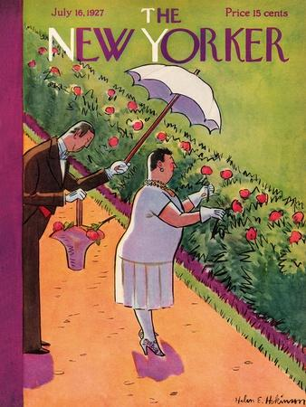 The New Yorker Cover - July 16, 1927