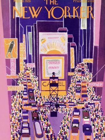 The New Yorker Cover - March 10, 1928
