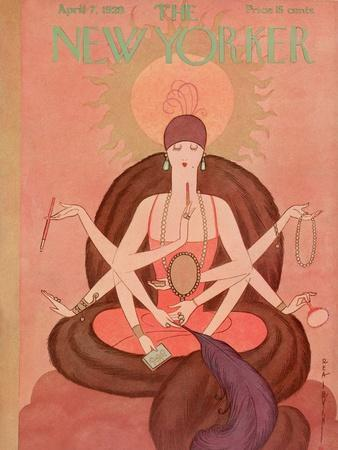 The New Yorker Cover - April 7, 1928
