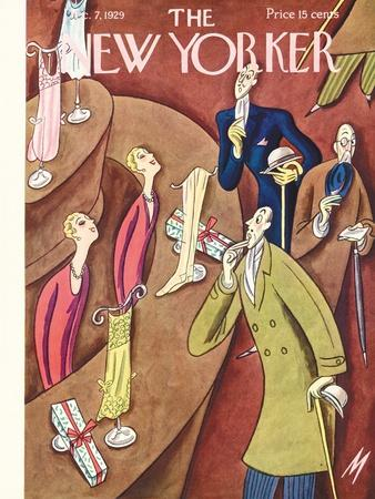 The New Yorker Cover - December 7, 1929