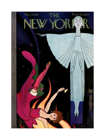 bbc4c3fd4 The New Yorker Cover - March 29, 1930 Premium Giclee Print by Rea ...