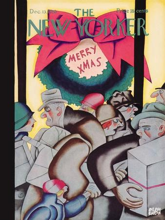The New Yorker Cover - December 13, 1930