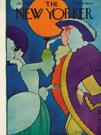 The New Yorker Cover - January 23, 1932