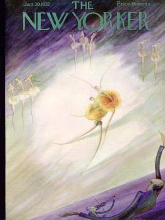 The New Yorker Cover - January 30, 1932