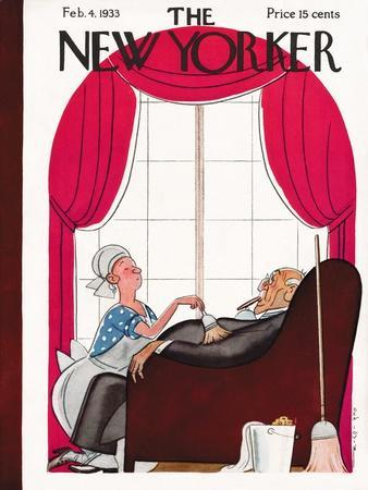 The New Yorker Cover - February 4, 1933