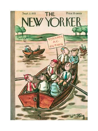 The New Yorker Cover - September 2, 1933