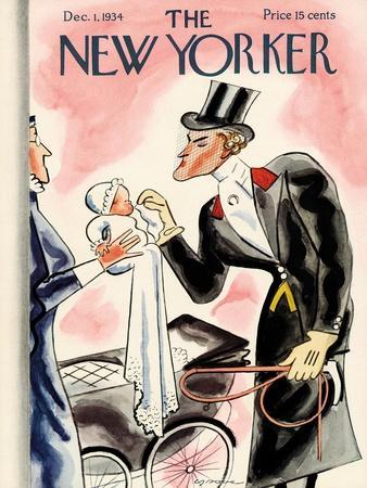 The New Yorker Cover - December 1, 1934