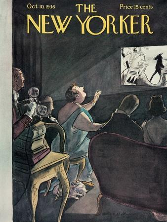 The New Yorker Cover - October 10, 1936
