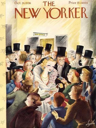 The New Yorker Cover - October 24, 1936