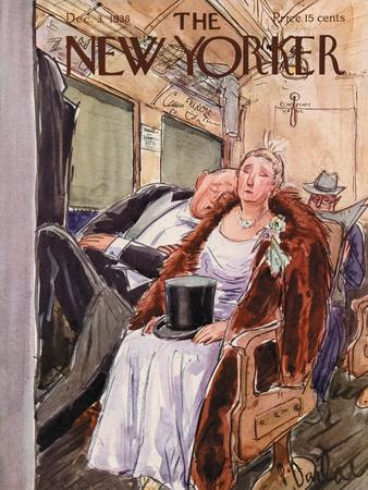 The New Yorker Cover - December 3, 1938