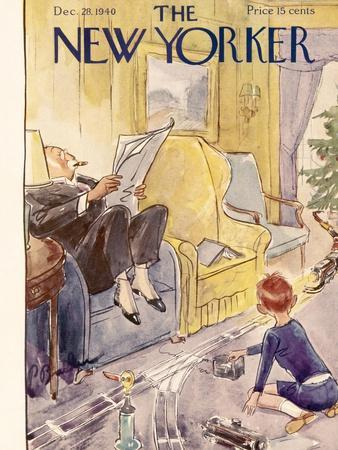 The New Yorker Cover - December 28, 1940