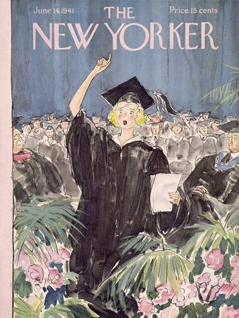 The New Yorker Cover - June 14, 1941