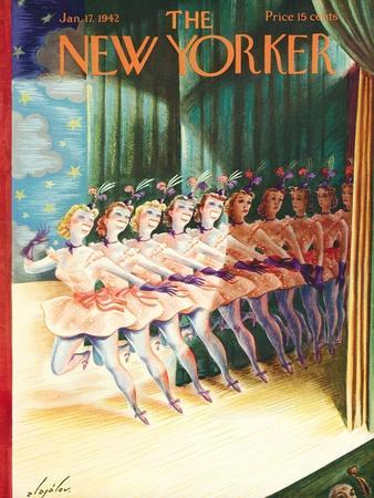 The New Yorker Cover - January 17, 1942