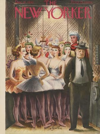 The New Yorker Cover - December 11, 1943