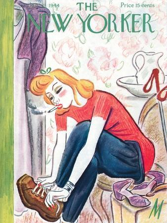 The New Yorker Cover - January 29, 1944