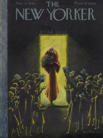 The New Yorker Cover - November 11, 1944