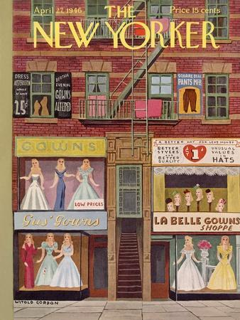 The New Yorker Cover - April 27, 1946