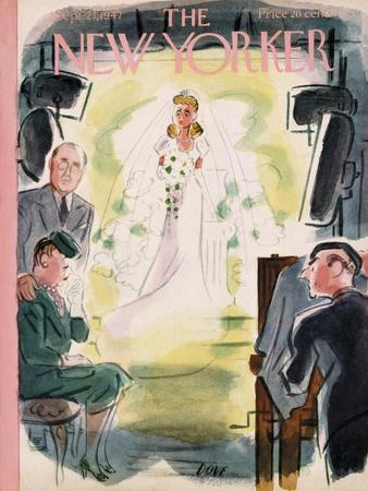 The New Yorker Cover - September 27, 1947