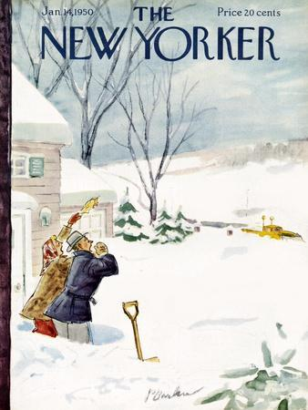 The New Yorker Cover - January 14, 1950
