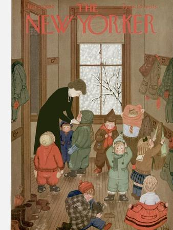 The New Yorker Cover - January 21, 1950