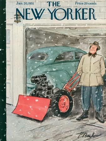 The New Yorker Cover - January 20, 1951