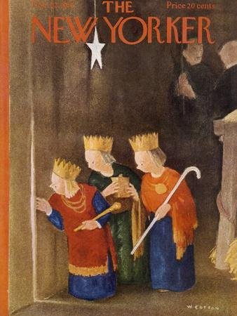 The New Yorker Cover - December 22, 1951