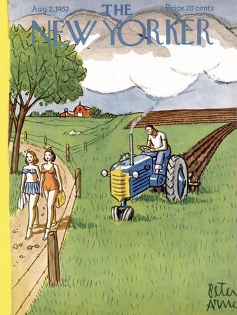The New Yorker Cover - August 2, 1952