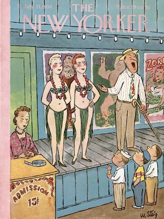 The New Yorker Cover - July 21, 1956
