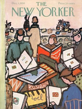 The New Yorker Cover - December 1, 1956