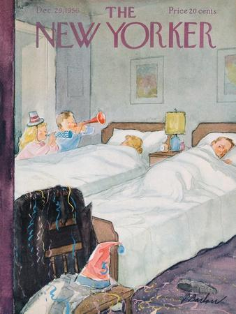 The New Yorker Cover - December 29, 1956