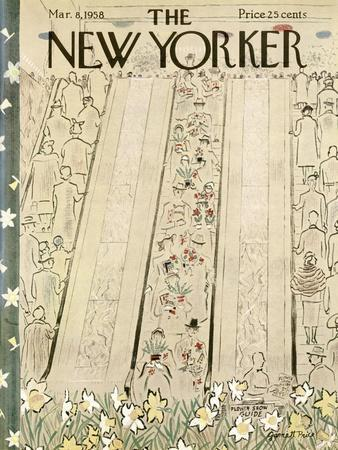 The New Yorker Cover - March 8, 1958