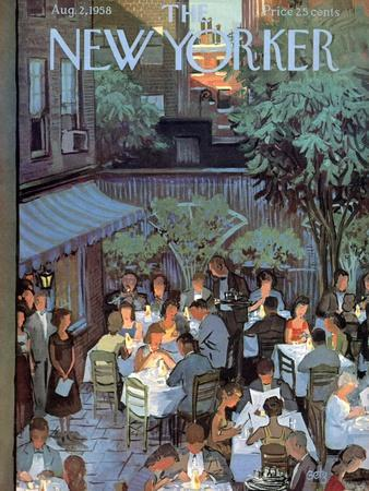 The New Yorker Cover - August 2, 1958