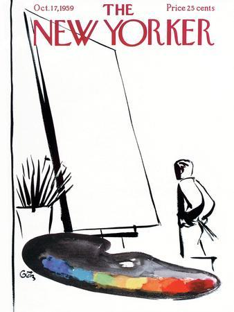 The New Yorker Cover - October 17, 1959