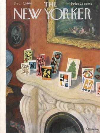 The New Yorker Cover - December 17, 1960